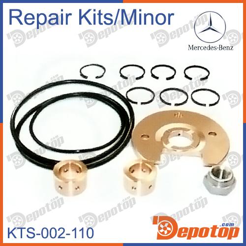 kit r paration minor turbo chra pour mercedes benz ref 5232 970 3296 310710 pi ces d tach es. Black Bedroom Furniture Sets. Home Design Ideas