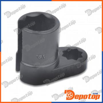 douille pour sonde lambda capteur d 39 oxyg ne cl oxygen sensor wrench pi ces d tach es d. Black Bedroom Furniture Sets. Home Design Ideas