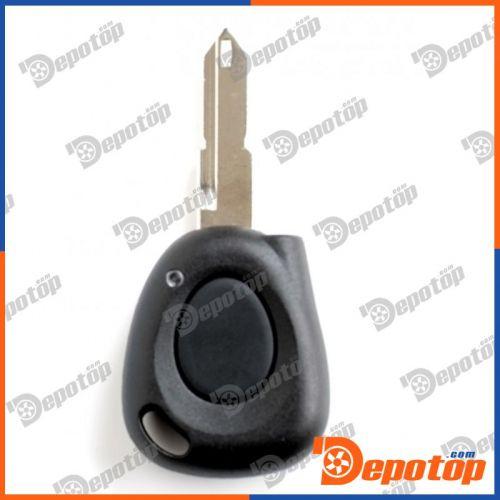Télécommande coque de clé plip 1 bouton infrarouge Renault Safrane