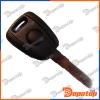 C-14 Coque de Clé Télécommande pour: Fiat key shall can put ceramic and TPX2 chip