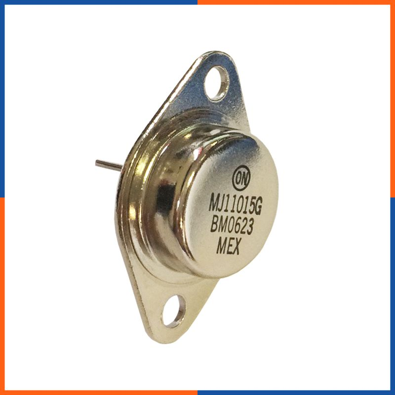 Transistor PNP Bipolar 30A TO3 MJ11015G PnP THT-transistors 120V 200W