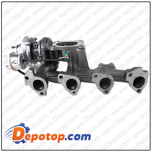 Turbolader Rumpfgruppe CHRA 706499 Ford Transit Connect 1